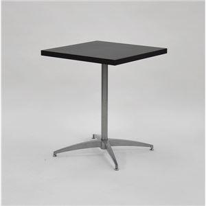 カフェキッツ テーブル用天板 【四角 ダークブラウン】 W60cm×奥行60cm×高さ3.5cm 〔インテリア家具 什器〕 の画像