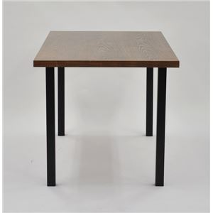 テーブルキッツ テーブル用角脚 【4本組 ブラック】 スチール製 〔DIYキット 什器〕 脚のみ の画像