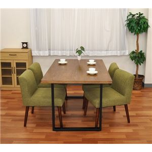 テーブルキッツ テーブル用角枠脚 【ハイタイプ 2本組 ブラック】 スチール製 アジャスター付き 〔インテリア家具 什器〕 の画像