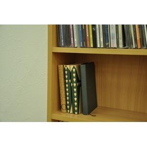 CD文庫ラック ナチュラル