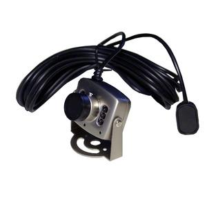 超小型ダミーカメラ 【点滅LED内蔵】 本物のダイキャストボディー・レンズ使用 〔車のいたずら防止・玄関等の防犯対策〕 - 拡大画像