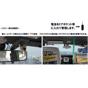 超小型ダミーカメラ 【点滅LED内蔵】 本物のダイキャストボディー・レンズ使用 〔車のいたずら防止・玄関等の防犯対策〕