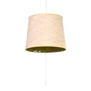 シーリングライト/照明器具 【3灯】 木製/天然木 ELUX(エルックス) Venir 2 ウォッシュホワイト(白) 【電球別売】 - 拡大画像