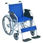 自走式 車椅子 【テイコブ標準型】 折り畳み スチール製 SG取得商品 〔介護用品 福祉用品〕