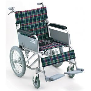 アルミ製 介護車/車椅子 【背折れタイプ】 軽量...の商品画像
