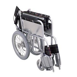 アルミ製 介護車/車椅子 【背折れタイプ】 軽...の紹介画像2