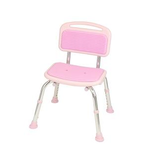 テイコブシャワーチェア(背付) ピンク