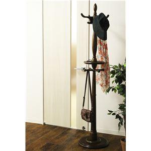 ポールハンガー(衣類収納) 木製 360度回転...の紹介画像2