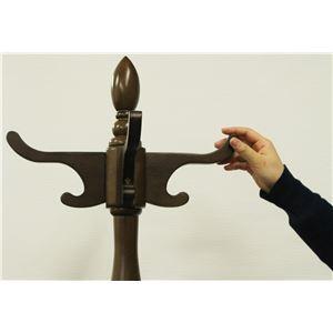 ポールハンガー(衣類収納) 木製 360度回転...の紹介画像3