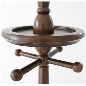 ポールハンガー(衣類収納) 木製 360度回転...の紹介画像4