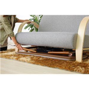 折れ脚こたつテーブル ビーグル 本体 【長方形】 幅110cm×奥行60cm 木製 木目調 【完成品】