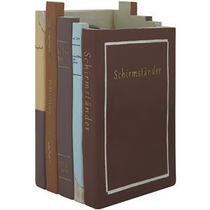 洋書デザイン レジン傘立て【Libro(リブロ)】 アンブレラスタンド 【完成品】