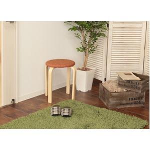スタッキングスツール/丸椅子 【同色5脚セット...の紹介画像5