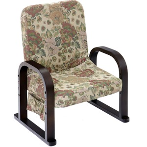 漣-さざなみ-リクライニング式TV座椅子フラワー