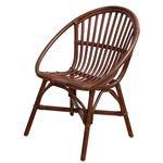 Rattan Chair RC-2954BR(ブラウン)