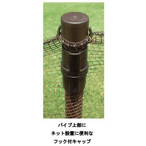 ドッグランセット(犬用柵/小動物よけ) 90cm×20m 日本製 〔ペット用品 ガーデニング用品〕