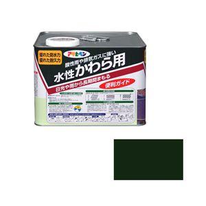 アサヒペン AP 水性かわら用 7L アイリッシュグリーン