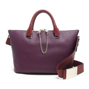Chloe(クロエ) 3S0169 882 B3K 2WAYショルダー CRIMSON/FIG PURPLE