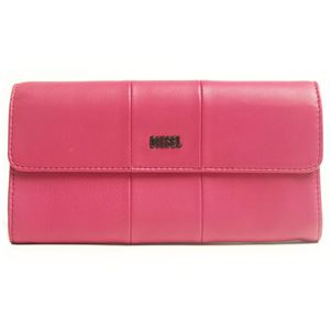 DIESEL (ディーゼル ) X02436 PR472 T4236 折長財布 ピンク