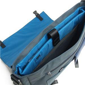 DIESEL (ディーゼル ) X01681 PR520 H4831 クロスボディブリーフバッグ Ebony/Insignia Blue f05