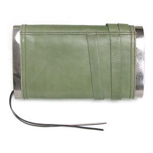 DIESEL (ディーゼル ) X01725 PS945 H4547 クラッチバッグ Military Green/Gun Metal h02
