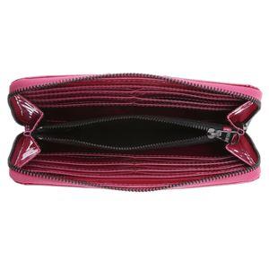 DIESEL (ディーゼル ) X02417 PR035 H3090 ラウンドファスナー長財布 Metallic Pink