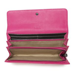 DIESEL (ディーゼル ) X02437 PR472 T4236 折長財布 Fuchsia Purple h03