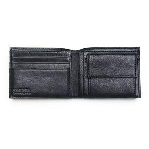 DIESEL (ディーゼル ) X02455 P0239 T8013 二つ折り財布 Black  h03
