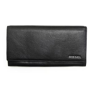DIESEL (ディーゼル ) X03359 PR013 H2547 Black/Vibrant Green 長財布 h01