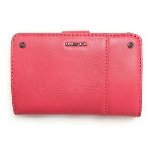 DIESEL(ディーゼル)X03498PR030T4054VirtualPink二つ折り財布