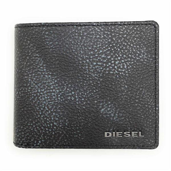 DIESEL (ディーゼル ) X03798 P0396 H5927 Graphite 折財布f00
