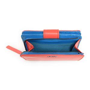 DIESEL (ディーゼル ) X03855 PR160 H5981 Cayenne/Dark Torquoise 二つ折り財布