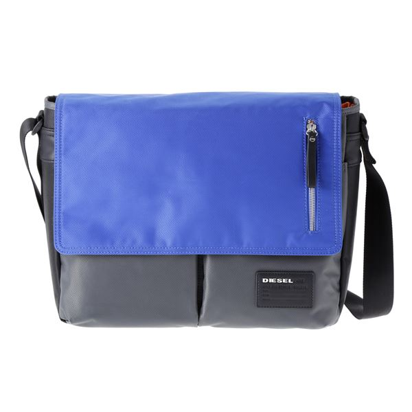 DIESEL (ディーゼル ) X02999 P0409 H5970 ショルダーバッグ Grey/Blue/Blackf00