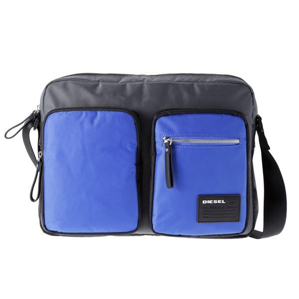 DIESEL (ディーゼル ) X03021 P0409 H5970 ショルダーバッグ Grey/Blue/Blackf00