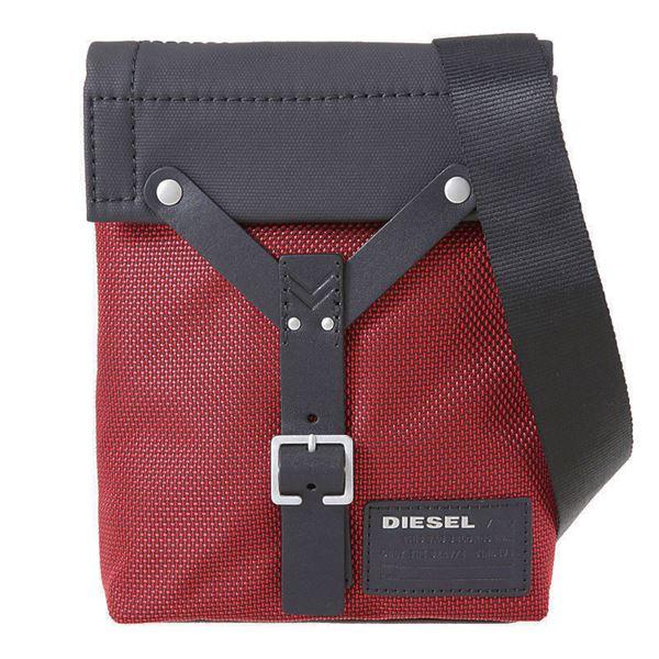 DIESEL (ディーゼル ) X03477 P0880 H5582 ショルダーバッグ Tango Red/Blackf00