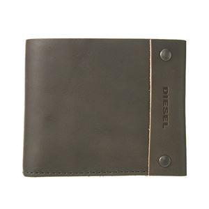 DIESEL (ディーゼル ) X03812 P0231 T8081 二つ折り財布 Grey Gargoyle