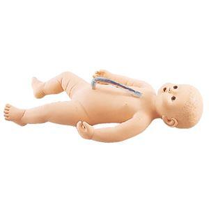 サカモトベビー/看護実習モデル人形 【女】 全身シームレス構造 臍帯付き M-107-4