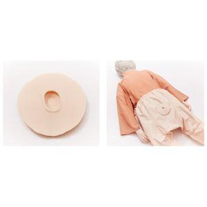褥瘡ケアモデル/看護実習モデル 【単品】 軟質ウレタン製 サイズ:10cm 繰り返し使用可 M-177-1