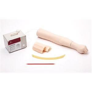 エコーガイド静脈穿刺トレーナー(看護実習モデル) 繰り返し実習可 M-197-0