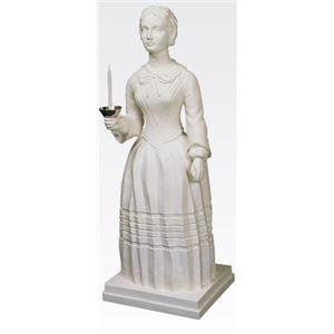 ナイチンゲール立像 【燭台付き】 高さ100cm T-103-0