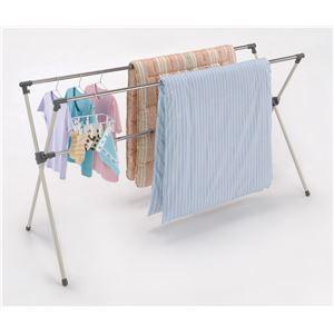 布団干し/洗濯物干しスタンド 【X型】 ステンレ...の商品画像