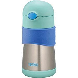 ベビーストローマグ/赤ちゃん用水筒 【290ml ブルー】 魔法瓶構造 真空断熱 『THERMOS サーモス』