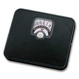 TANITAタニタ体重計/ヘルスメーター【アナログ】ブラック(黒)チェッカー付き最小表示:1kg