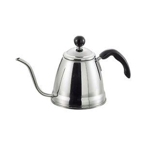 コーヒーポット/ドリップポット 【細口 1.0L】 ステンレス製 IH・ガスコンロ対応 日本製 『フィーノ』
