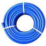 散水ホース/水まきホース 【30m】 ホース内径:15mm 耐圧仕様 防藻 ホワイトライン入り 『アレス』