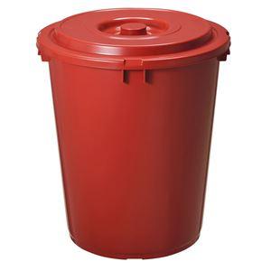 味噌樽/みそ保存容器 【75型】 プラスチック製 深型設計 上フタ・押しフタ/持ち手付き 『新輝合成』