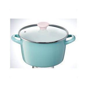 ホーロー製両手鍋/ホーロー鍋 【深型 22cm...の関連商品3