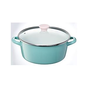 ホーロー製両手鍋/ホーロー鍋 【26cm】 容...の関連商品2