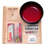 そば打ちセット/そば打ち道具 【入門用DVD付き】 麺台 麺棒 こね鉢 麺切包丁 こま板 日本製