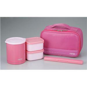 和平フレイズ フォルテックL保温弁当箱640ml P(ピンク) FLR-5956
